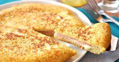 Puré de patata relleno de jamòn y queso