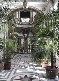 Conservatory, Musée Jacquemart-André, Paris // William Kimber