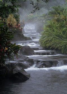 Arenal Volcano National Park, Costa Rica **i cannot recommend this place enough** Beautiful Waterfalls, Beautiful Landscapes, Volcano National Park, National Parks, Places To Travel, Places To See, Places Around The World, Around The Worlds, Terre Nature