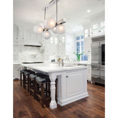 Buy the Hudson Valley Lighting Aged Brass Direct. Shop for the Hudson Valley Lighting Aged Brass Hinsdale 7 Light Wide Linear Chandelier and save. Modern Farmhouse Kitchens, Rustic Kitchen, New Kitchen, Cool Kitchens, Kitchen Decor, Dream Kitchens, Kitchen Ideas, Awesome Kitchen, 10x10 Kitchen