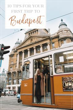 From the baths to the ruin bars to the delicious local dishes, Hungary is a must-see. Here are my 10 tips for your first trip to Budapest! Visit Budapest, Budapest Travel, Budapest Hungary, Places In Europe, Europe Destinations, Budapest Christmas, Capital Of Hungary, Buda Castle, Hungary Travel