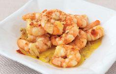 Easy Tapas recipes, Chilli & Garlic King Prawns
