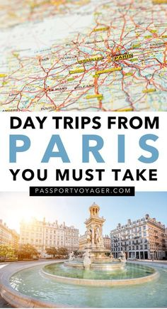 Want to take some day beautiful trips from Paris? Ready to make a quick escape from the hustle and bustle of the city? Check out 15 of the easiest day trips from Paris in our brand new guide! Paris Travel Guide, Europe Travel Tips, Travel Guides, Places To Travel, Travel Destinations, Places To Visit, Travel Goals, Paris France Travel, Traveling Europe