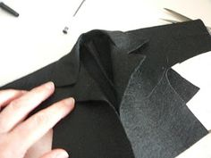 ANILEGRA COSE PARA NANCY: Tutorial y patrones chaqueta Nancy bruja 2015