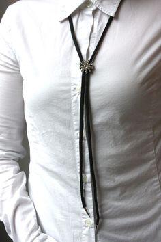 DIY Bolo Tie Necklace