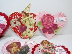 Stamping with a Passion!: Vintage Valentines