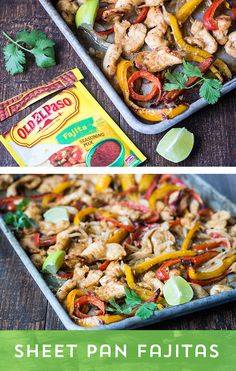 Are you a fajita lover? These Sheet Pan Fajitas from @wanderlustkitch will be your new go-to recipe, no matter the time of year! Your oven's broiler provides the char you crave, without needing a grill, or a smokey skillet! These come together in a hurry, and make enough to feed a crowd - so invite the whole family over!