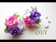 ❤Очень ценю Ваши ЛАЙКИ и КОММЕНТАРИИ!!! ❤СПАСИБО❤ В этом видео (канзаши мастер- класс) показано как сделать детские резинки с цветами из лент своими руками ~...