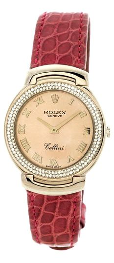 Rolex Women's Cellini Cellissima diamond watch