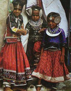 Rabari children- tribal india