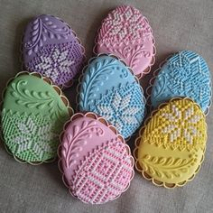 Cupcakes faciles decoracion 43 Ideas for 2019 Butter Sugar Cookies, No Egg Cookies, Easter Cookies, Royal Icing Cookies, Holiday Cookies, Bolacha Cookies, Cupcake Recipes From Scratch, Icing Recipe, Recipe Recipe
