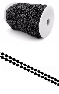 Chains 150069: Ball Chain Spool - 330 Feet - Dark Black Color - 3.2Mm Ball #6 - 100 Meters -> BUY IT NOW ONLY: $54.99 on eBay!