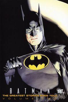 Bat Man art by Alex Ross | #BatMan #Art #AlexRoss