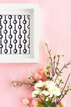 DIY Patterned Wall A