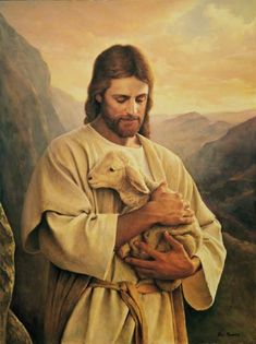 Jesus Wallpaper, Wallpaper Wallpapers, Jesus Painting, Artist Painting, Art Paintings, Jesus Lamb, Jesus Photo, Pictures Of Jesus Christ, Images Of Christ