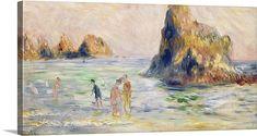 Moulin Huet Bay, Guernsey, c.1883 (oil on canvas)