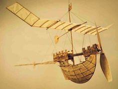 Luigi Prina's gorgeous flying ships. You must see more of these! From Artisan's blog.