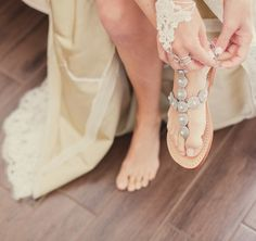 Unexpected wedding shoe ideas for your big day — from embellished sandals to quirky colored flats.