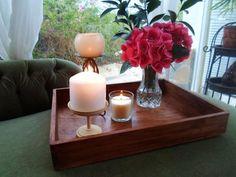 Crea una preciosa bandeja con una caja de madera vieja