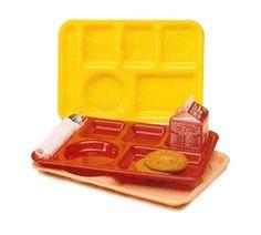 Vollrath School Compartment Tray rectangular - 2015-02  Case Pack: 24  School Compartment Tray, rectangular, 9-7...