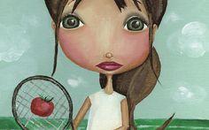 The Dreamy Giraffe - Tomato Tennis