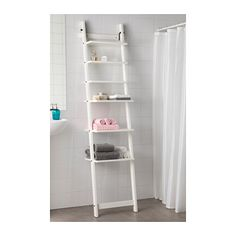 Bathroom Storage HJÄLMAREN Wall shelf IKEA