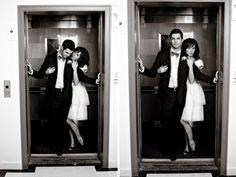 En el ascensor: Si vives o trabajas en un edificio el ascensor es un lugar indicado en el cuál puedes conocer a muchos hombres y quien sabe a tu pareja. Al ser un espacio reducido da la intimidad para entablar una conversación. Saluda y siempre sonríe :P