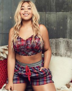Addition Elle offers fashionable and trendy plus size women's clothing, including plus size lingerie, plus size jeans and plus size dresses. Trendy Plus Size Clothing, Plus Size Fashion For Women, Plus Size Dresses, Plus Size Outfits, Plus Size Nighties, Addition Elle, Plus Size Underwear, Plus Size Lingerie, Plus Size Boudoir