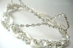 Aurora's Fairytale Rhinestone Headpiece by ShealynnsFaerie on Etsy, $65.00