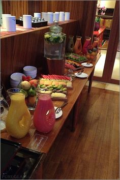Healthy fruits, smoothies and juices - Breakfast at Schloss Elmau – Leading Hotels – The Experience – Review
