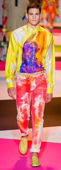 Versace - Spring 2014