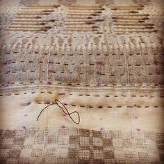 Amy Meissner, textile artist | Work in progress, 2015 | www.amymeissner.com