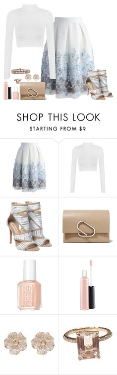 """""""2016 Elsa"""" by fashion-nova ❤ liked on Polyvore featuring Chicwish, WearAll, 3.1 Phillip Lim, Essie, MAC Cosmetics, River Island and Cocobelle"""