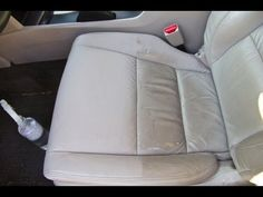 DCG1: How to repair a leather car seat rip/hole on an E36 BMW M3 Evolution - YouTube
