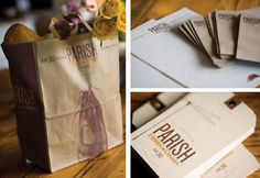 Boy Burns Barn: Parish Food & Goods Identity