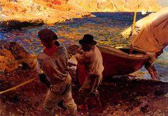'Fin de jornada, Javea' (1900).SOROLLA