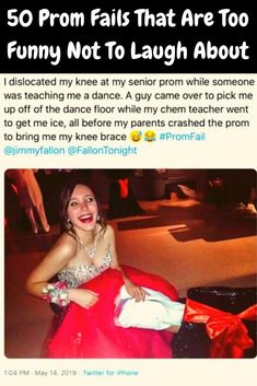 50 Prom Fails That Are Too Funny Not To Laugh About