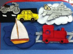 Where Does This Go? Transportation #flannelboard #flannelfriday #storytime