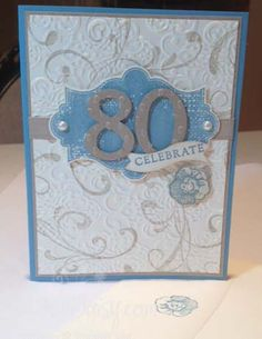 Everything Eleanor 80th Birthday by marlayne - Cards and Paper Crafts at Splitcoaststampers