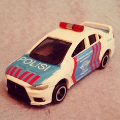 Tomica - Evo X - custom paint and decal.