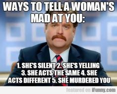 Bwahaha! Okay, lets face it, we females do this and it's so sad! Poor guys!