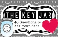Not sure which questions to ask your kids at the dinner table? We have 48...
