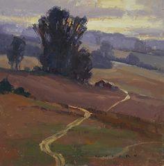 Jim Wodark - Morning Stand Oil on Linen 12 x 12