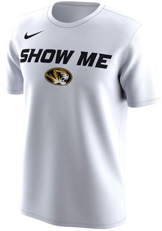 9d984bbcbef Nike Missouri Tigers Mens White Bench Legend Short Sleeve T Shirt - 12519278