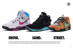 Check out the Stussy x Nike S Collection! #sneakers #outdoor