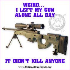 My guns must be defective! ~ Up Patriot Guy ~ RADICAL Rational American's Defending Individual Choice And Liberty Click Click Boom, Gun Humor, Guns Dont Kill People, Gun Rights, Stand Up, Hand Guns, Politics, Lol, 2nd Amendment