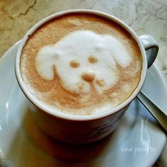 This Animal Latte Art Is Almost Too Cute to Drink