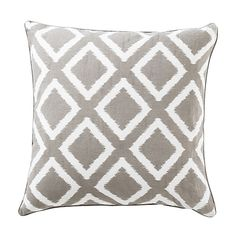 Living room possible cushion coordinate: Printed Cushion - Bouclair Home