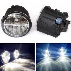 (28.97$)  Buy here  - For NISSAN Vampira Versa TIIDA Lafesta Presage Note E11 MPV  2004 - 2014 LED fog lights Car styling General drl led  lamps 1SET