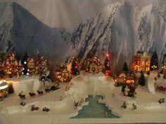 st nicholas square christmas village - Google Search